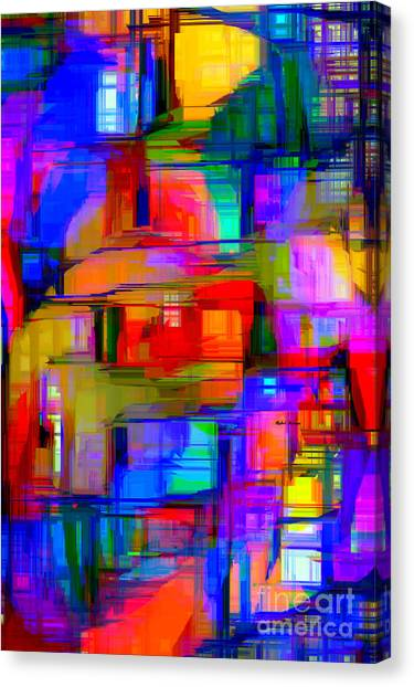 Abstract 1293 Canvas Print