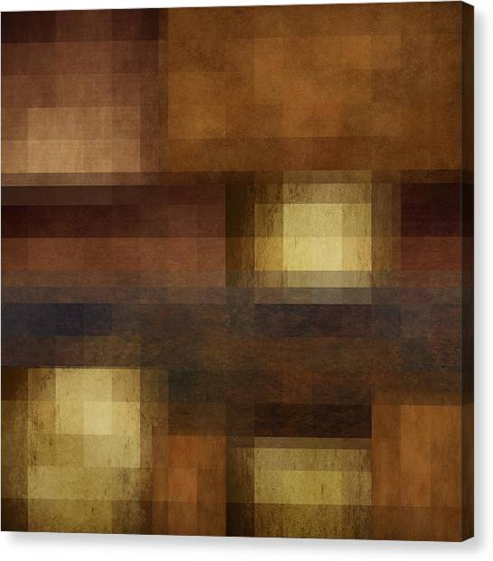 Pixelated Canvas Print - Abstract 14 by Art Spectrum