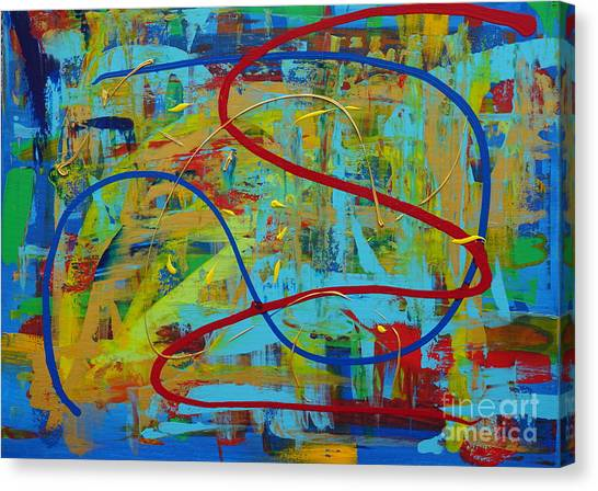 Abstract 2_untitled Canvas Print
