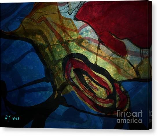 Abstract-31 Canvas Print