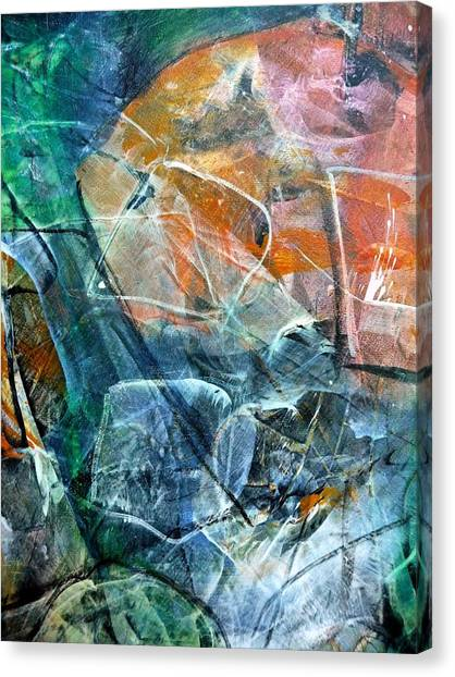 Abstract #326 - Happy Hour Canvas Print
