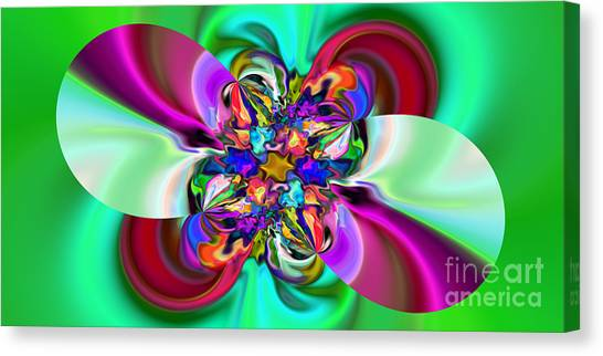 Abstract 368 Canvas Print by Rolf Bertram