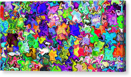 Abstract 369 Canvas Print by Rolf Bertram