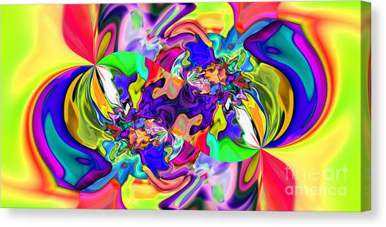 Abstract 371 Canvas Print by Rolf Bertram
