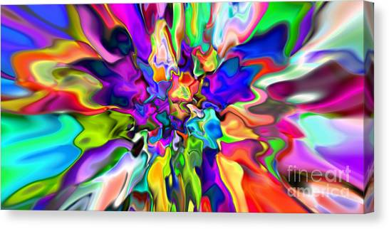 Abstract 373 Canvas Print by Rolf Bertram