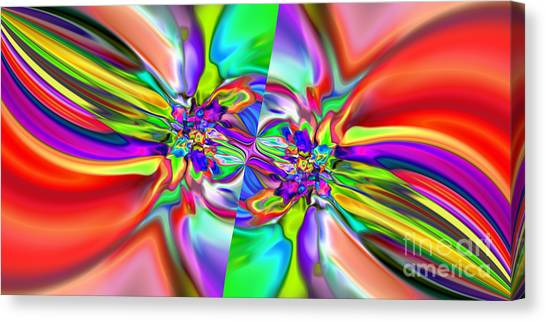 Abstract 377 Canvas Print by Rolf Bertram