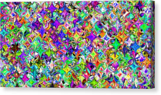 Abstract 385 Canvas Print by Rolf Bertram