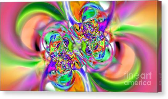 Abstract 386 Canvas Print by Rolf Bertram
