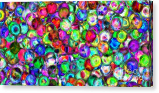 Abstract 390 Canvas Print by Rolf Bertram