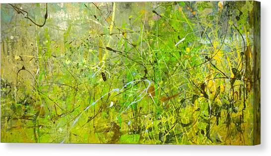 Abstract #42515b Or Marsh Life Canvas Print