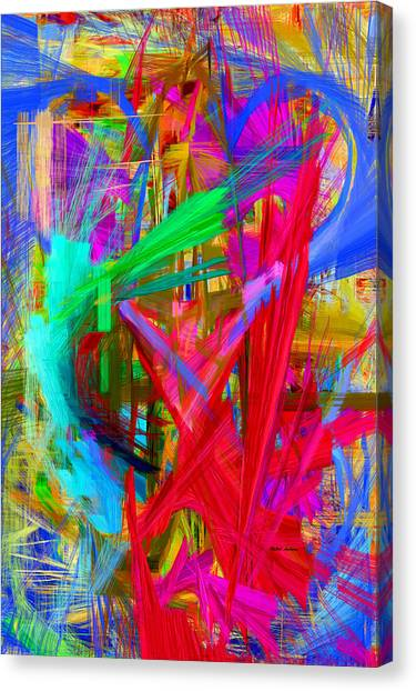 Abstract 9028 Canvas Print