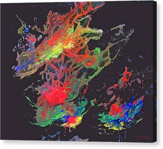 Abstract Andromeda Canvas Print