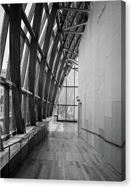 Abstract Architecture - Ago Toronto Canvas Print