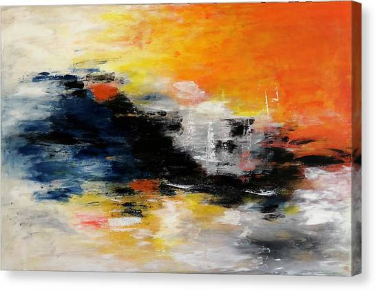 Abstract-art Canvas Print