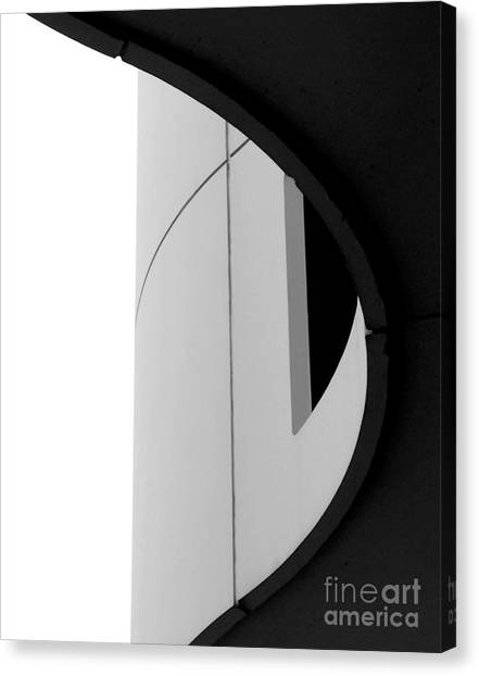 B / W   Abstract  Canvas Print