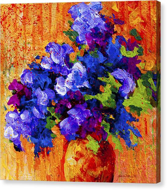 Daisy Canvas Print - Abstract Boquet 3 by Marion Rose