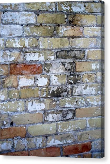 Abstract Brick 10 Canvas Print