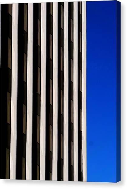 Abstract Building 2011 Canvas Print