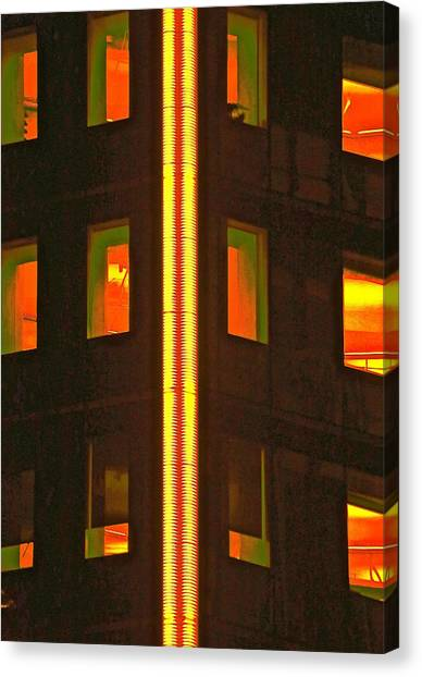 Abstract Building Canvas Print by Gillis Cone