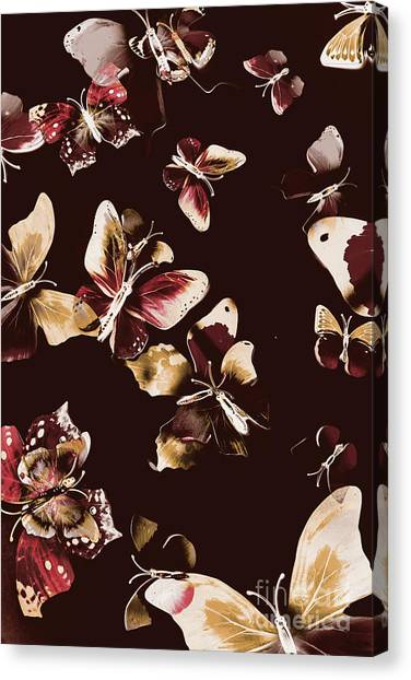 Camouflage Canvas Print - Abstract Butterfly Fine Art by Jorgo Photography - Wall Art Gallery