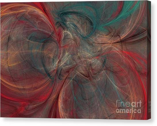 Abstract Chaotica 10 Canvas Print