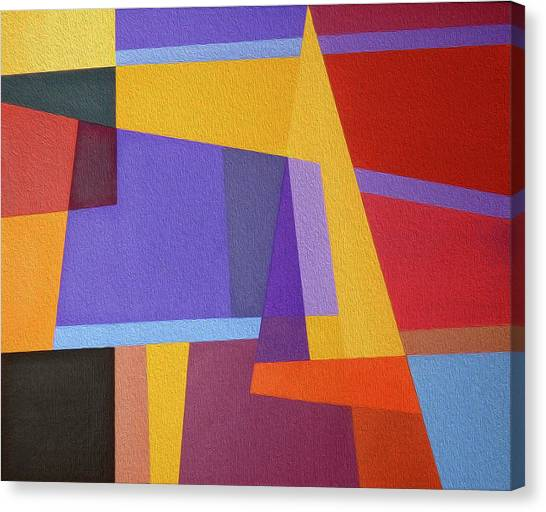 Abstract Composition 7 Canvas Print