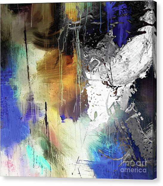 Abstract Dance Canvas Print by Sadegh Aref