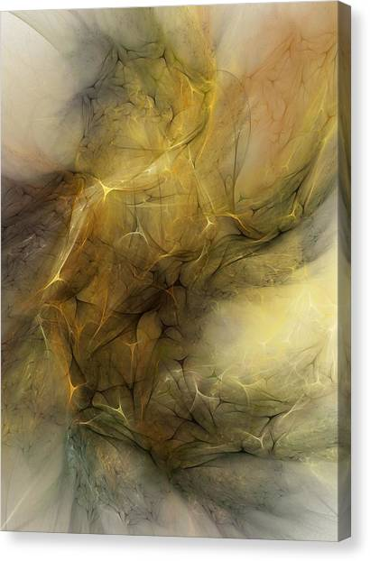 Karma Sutra Canvas Print - Abstract Erotica Karma Sutra by David Lane