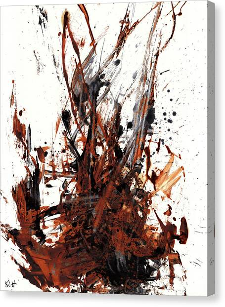 Abstract Expressionism Painting 50.072110 Canvas Print