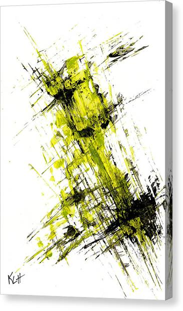 Abstract Expressionism Canvas Print - Abstract Expressionism Painting 55.102411 by Kris Haas