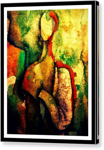 Abstract Figure # 3 Canvas Print