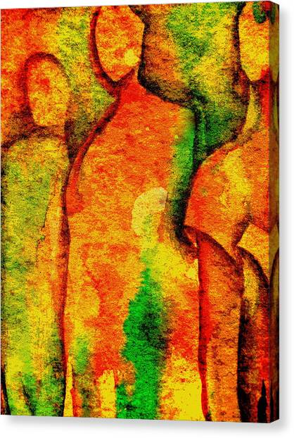 Abstract Figures Canvas Print