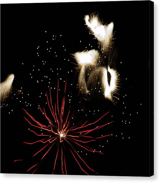 Abstract Fireworks IIi Canvas Print