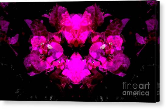 Abstract Floral No.2 Canvas Print