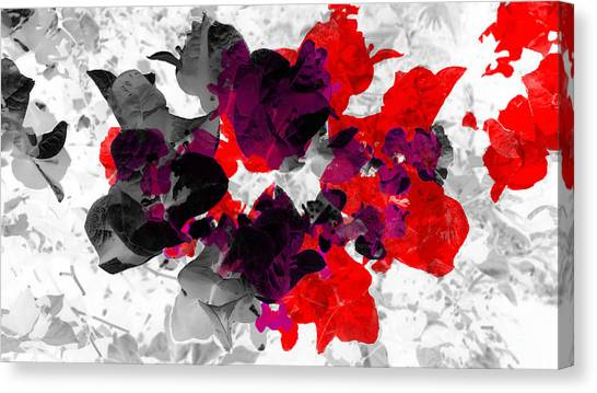 Abstract Floral No.3 Canvas Print