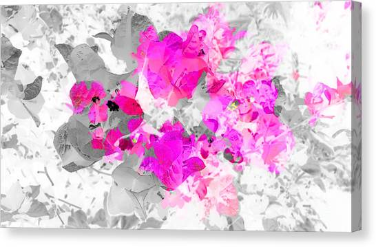 Abstract Floral No.4 Canvas Print