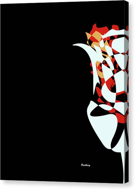 Abstract Flower 1 Canvas Print