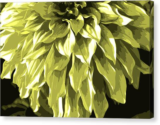 Abstract Flower 5 Canvas Print