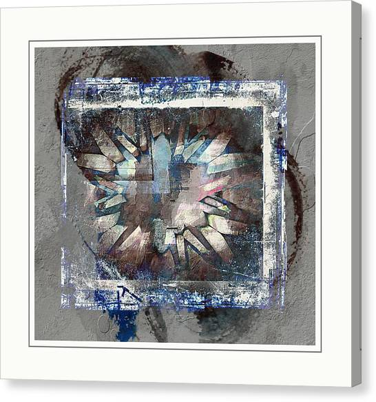 Contemporary Art Canvas Print - Abstract Frame by Contemporary Art
