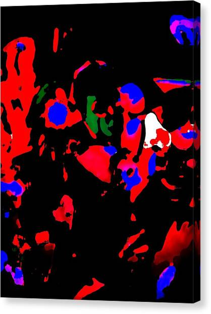 Abstract Images Canvas Print by HollyWood Creation By linda zanini