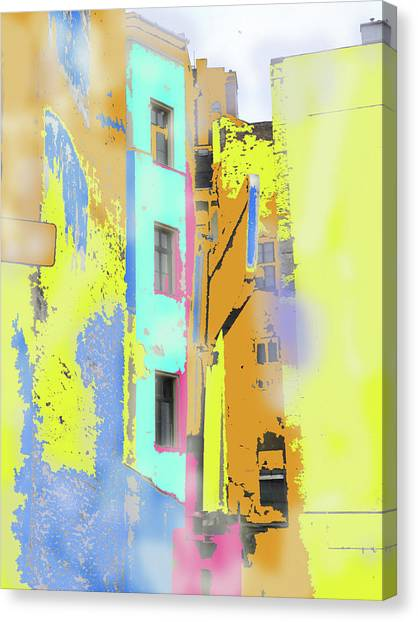 Abstract  Images Of Urban Landscape Series #2 Canvas Print