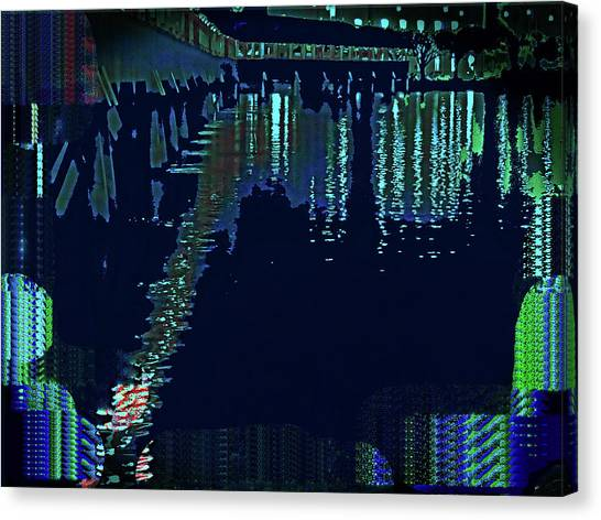 Abstract  Images Of Urban Landscape Series #7 Canvas Print