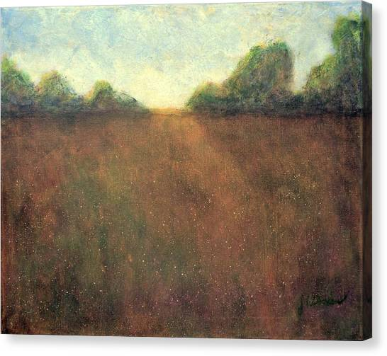 Abstract Landscape #212 - Art By Jim Whalen Canvas Print