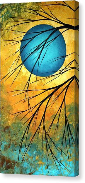 Canvas Print - Abstract Landscape Art Passing Beauty 1 Of 5 by Megan Duncanson
