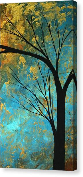 Canvas Print - Abstract Landscape Art Passing Beauty 3 Of 5 by Megan Duncanson