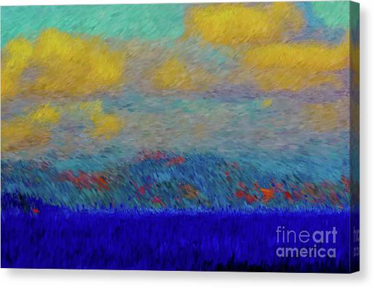 Abstract Landscape Expressions Canvas Print