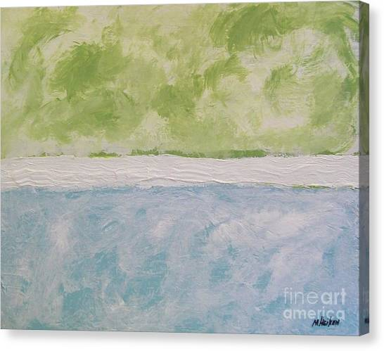 Abstract Lightness Canvas Print