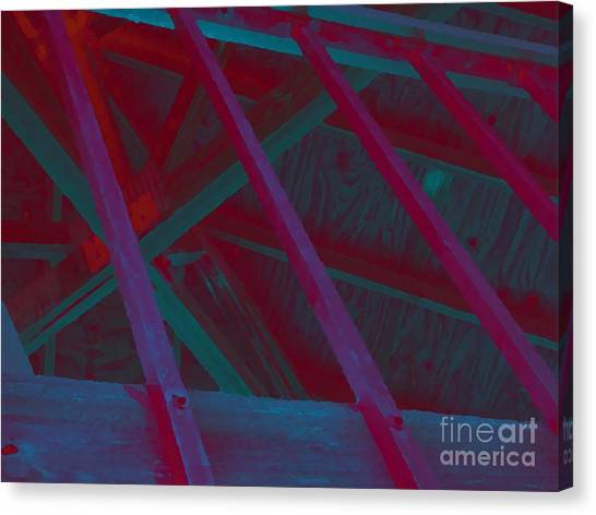 Abstract Line Canvas Print by John  Bichler