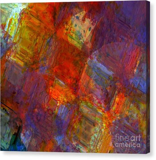 Abstract Moments Canvas Print by Fania Simon