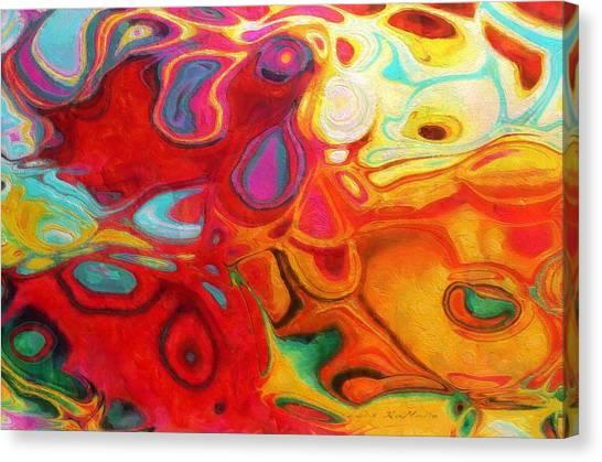 Abstract No. 20 Canvas Print